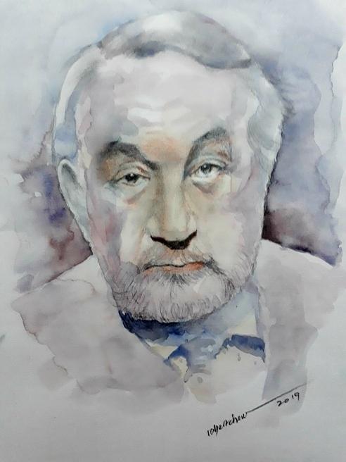 Philippe Noiret by Bobchew